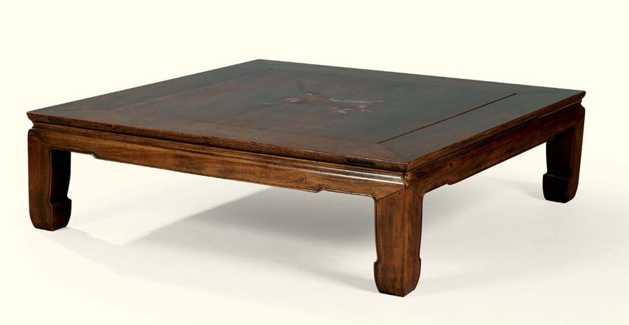 Table basse bois chine