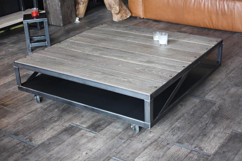 Table basse de salon bois design