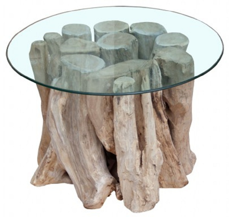 Bois flotté table basse