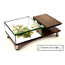 Table basse pour aquarium