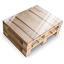 Table basse palette pleine
