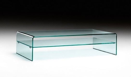 Table basse verre fiam