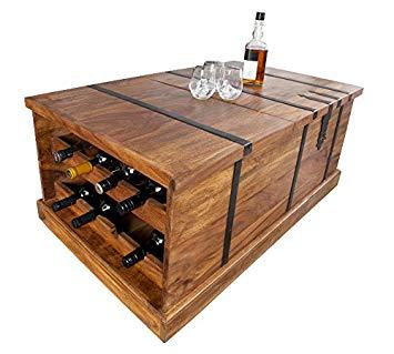 Table basse en bois bar