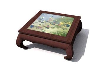 Table basse bois à peindre