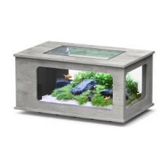 Table basse aquarium design pas cher