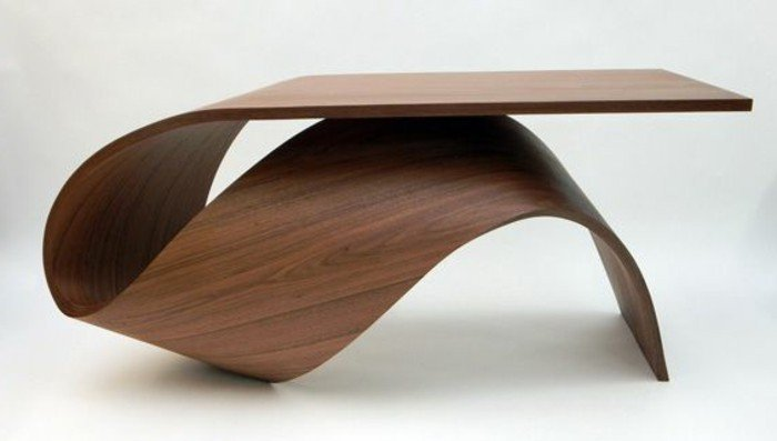Table basse bois disign