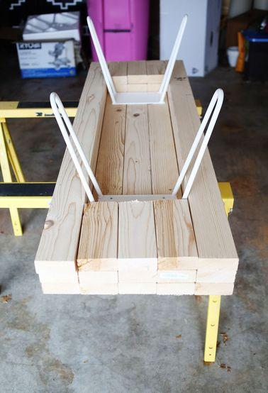 Fabriquer une table basse scandinave
