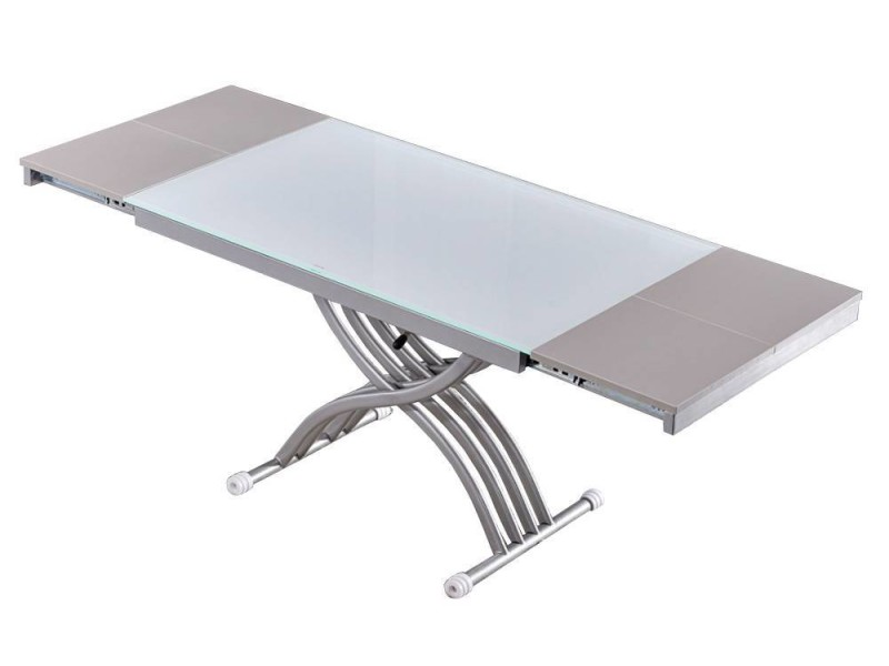 Table basse convertible conforama - Table basse relevable extensible conforama ...