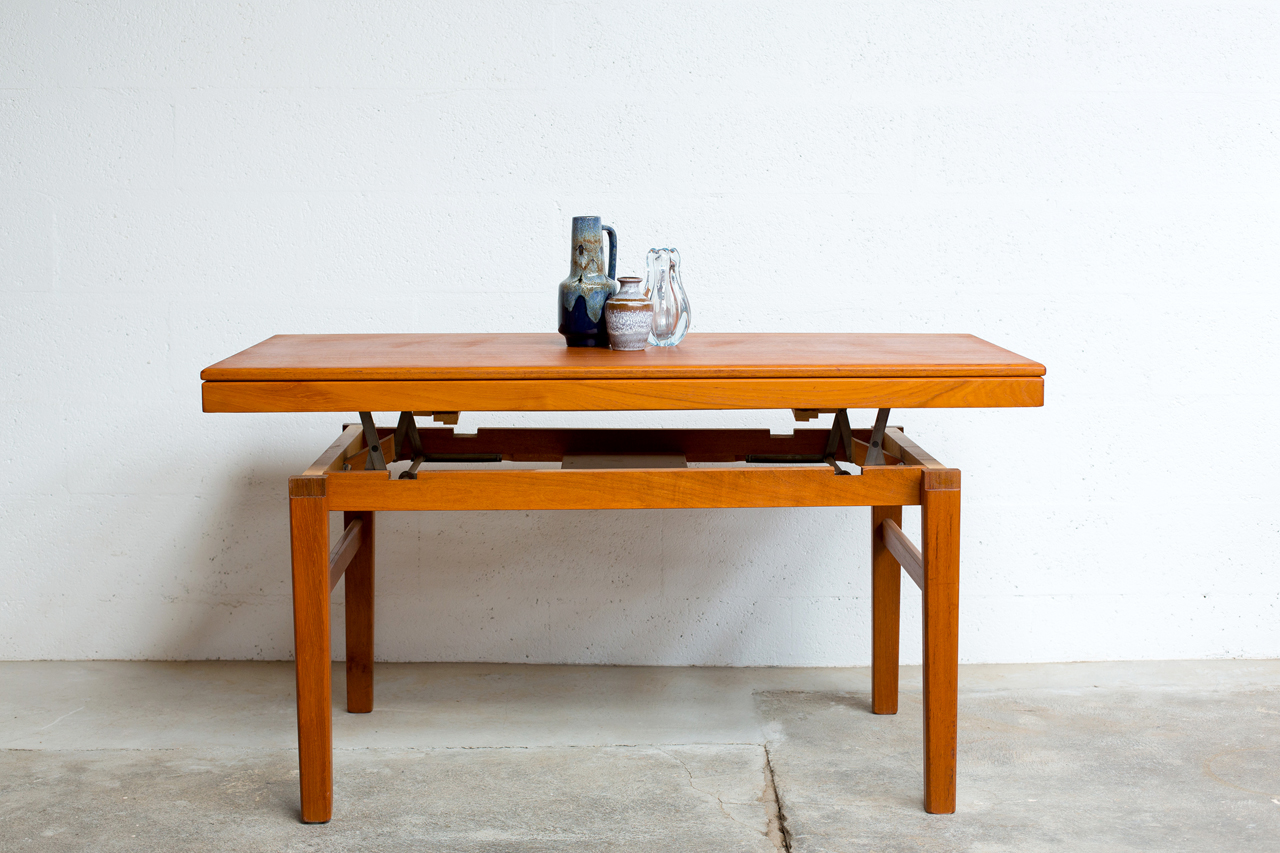 Table basse scandinave transformable