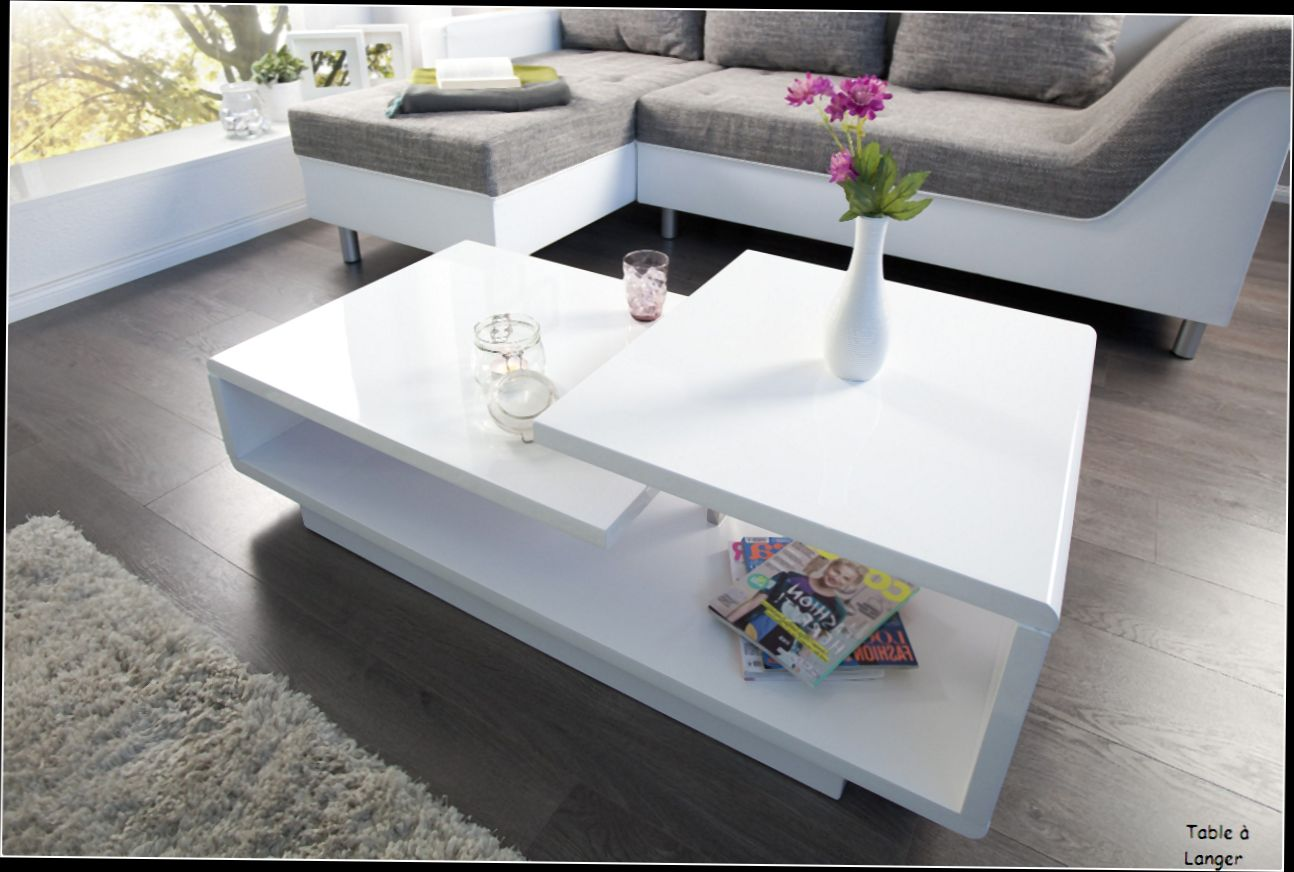 Table basse déco new york conforama