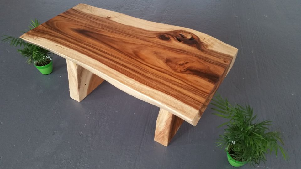 Plateau table basse bois massif