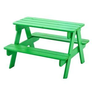 Table basse de jardin en bois trigano