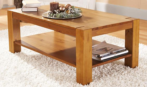 Couleur table basse bois