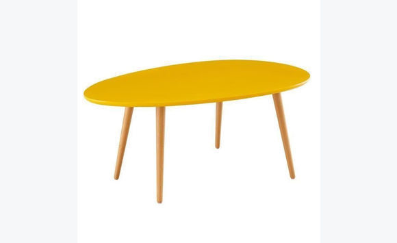 Table basse scandinave laqué