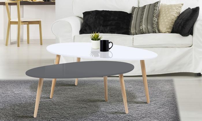 Table basse scandinave groupon