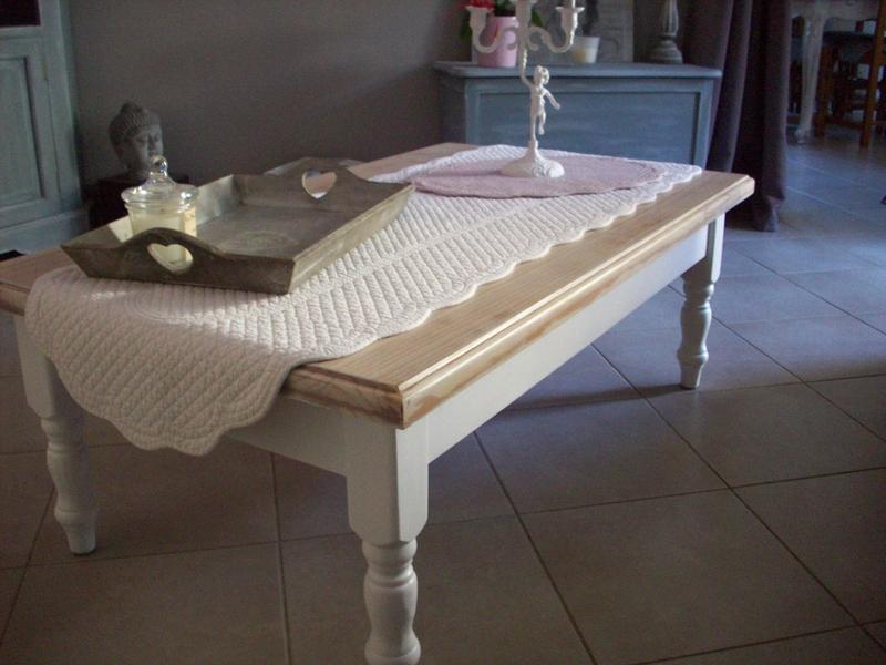 Refaire une table basse en bois