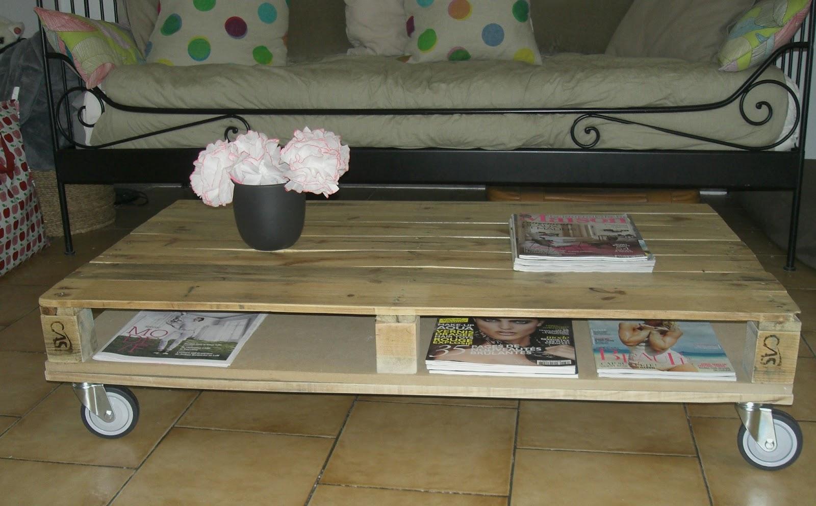 Tuto pour table basse palette
