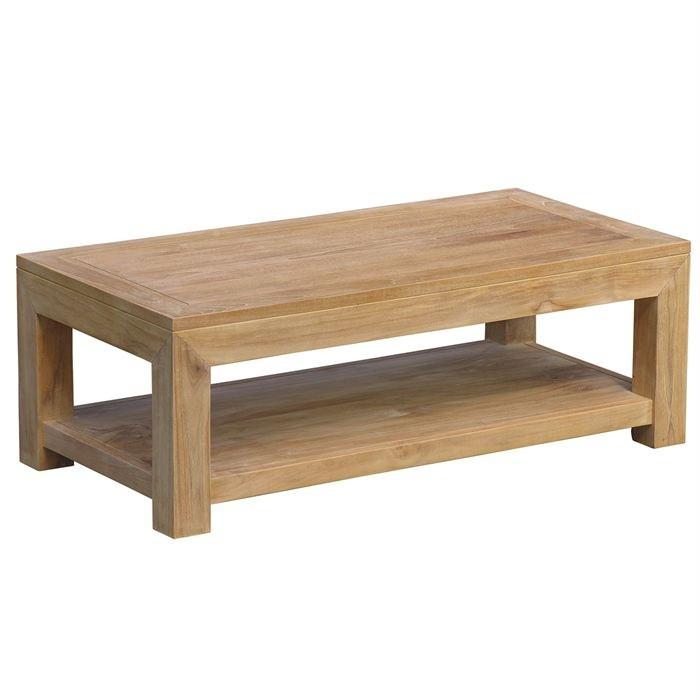 Fabriquer table basse bois massif