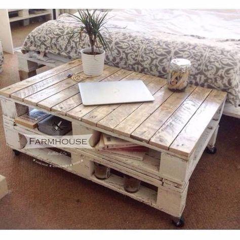 Achat table basse palette bois