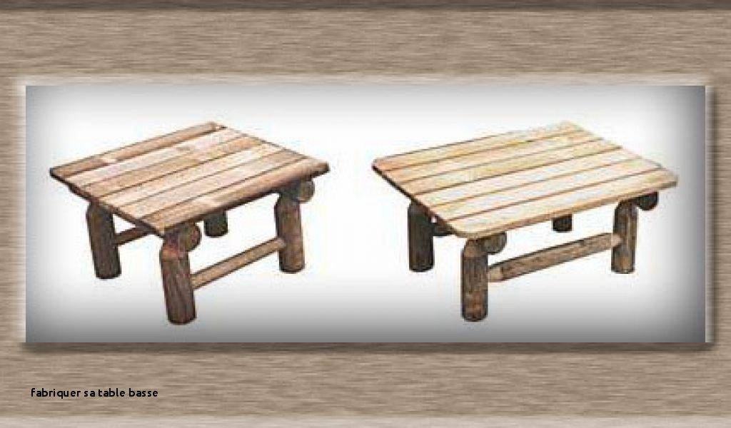 Table basse de jardin en bois à gardone