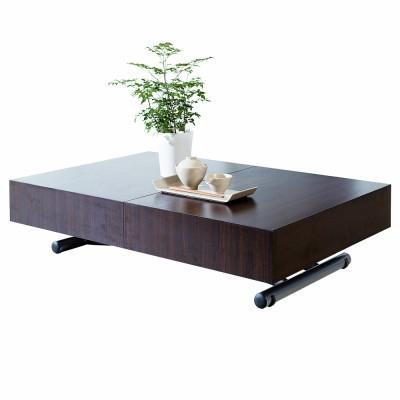 Table basse relevable exterieur