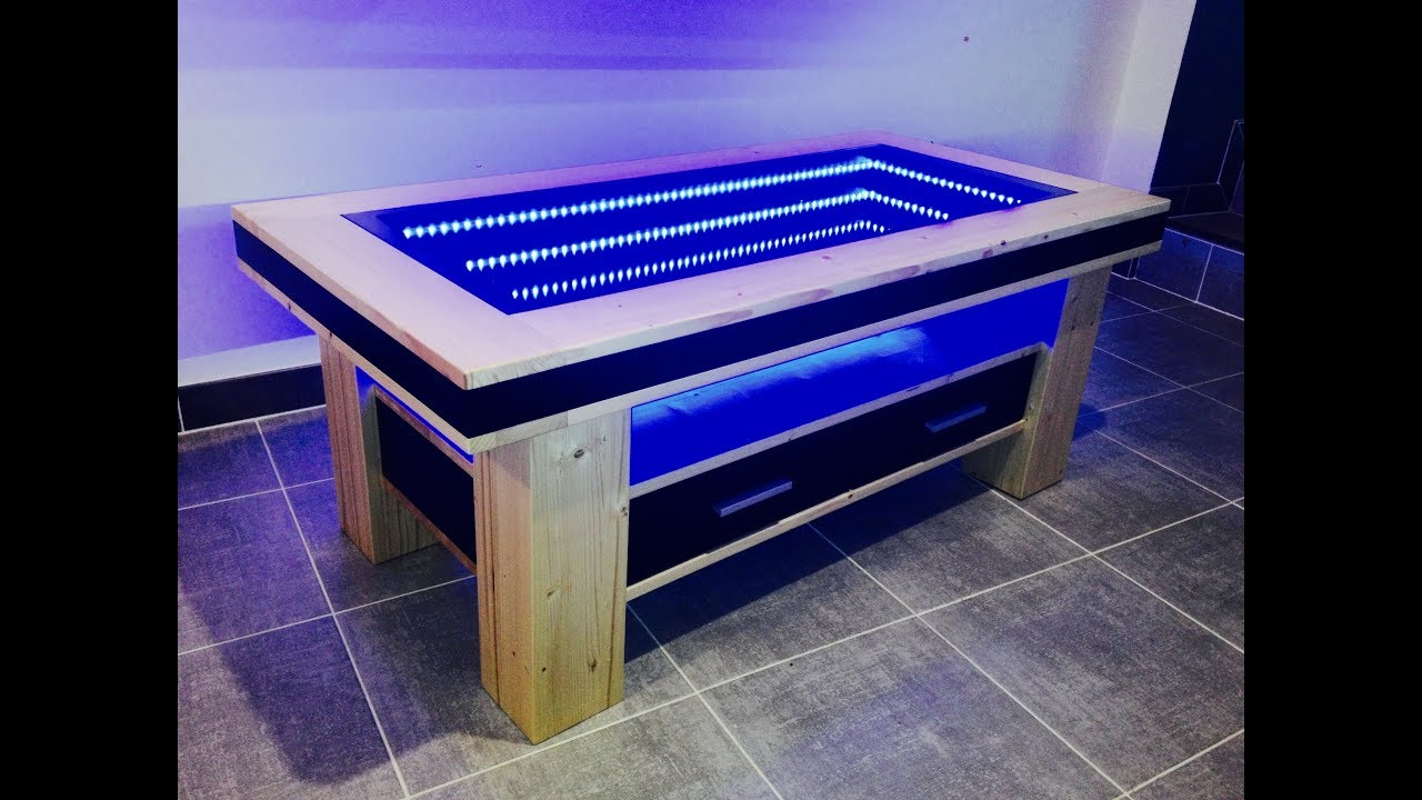 Table basse led