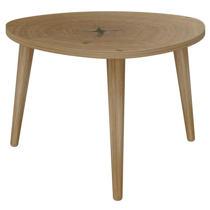 Table basse triangulaire scandinave