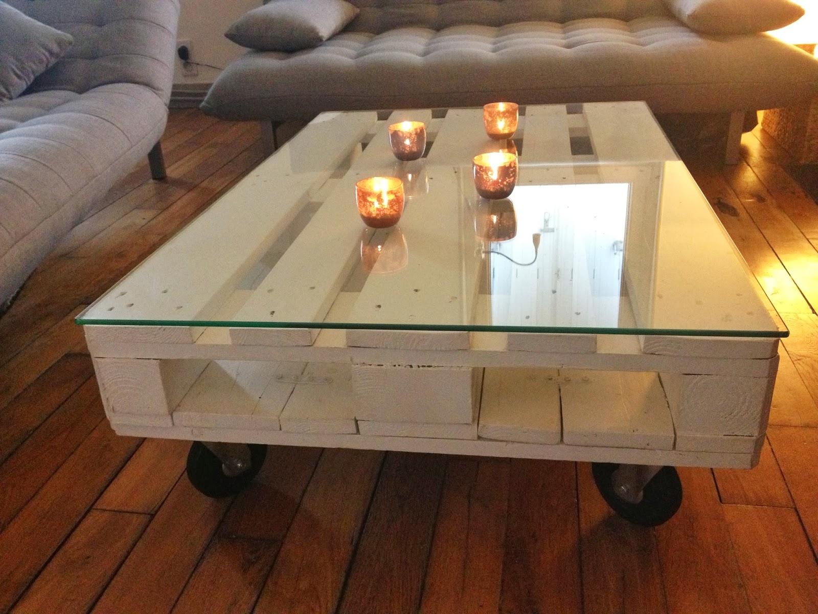 Construction d'une table basse en palette