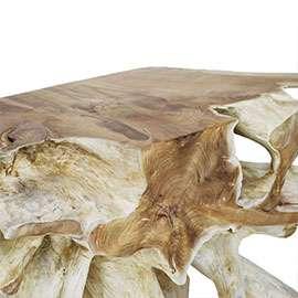 Table basse racine bois