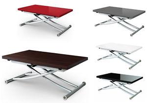 Table basse relevable et transformable
