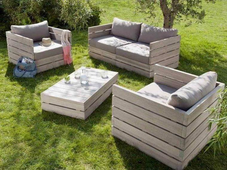 Fabriquer une table basse de jardin en palette