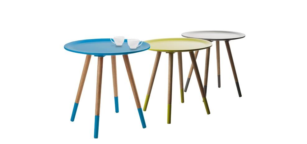 Petite table basse en bois exterieure