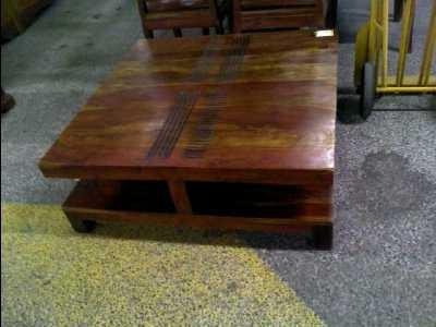 Table basse chez bois et chiffons