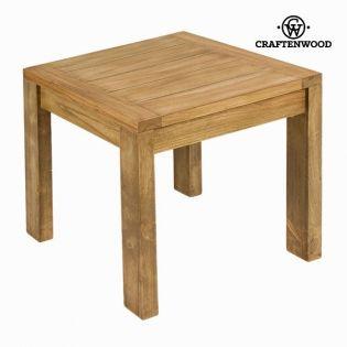 Table basse bois 50x50