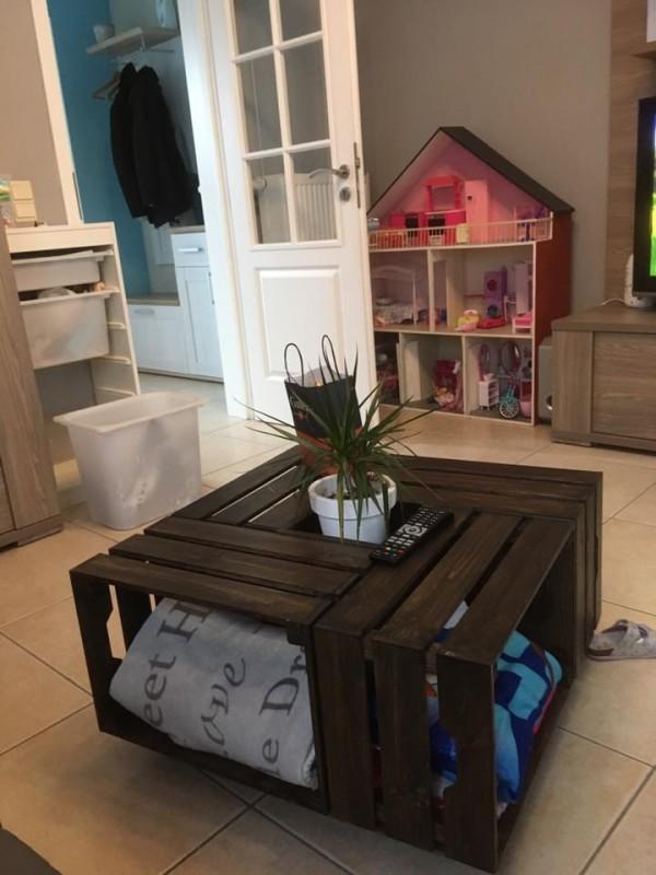 Table basse en bois chez ikea