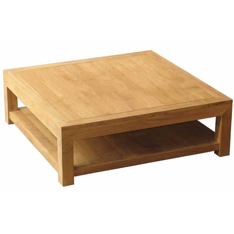 Table basse carrée bois alinea