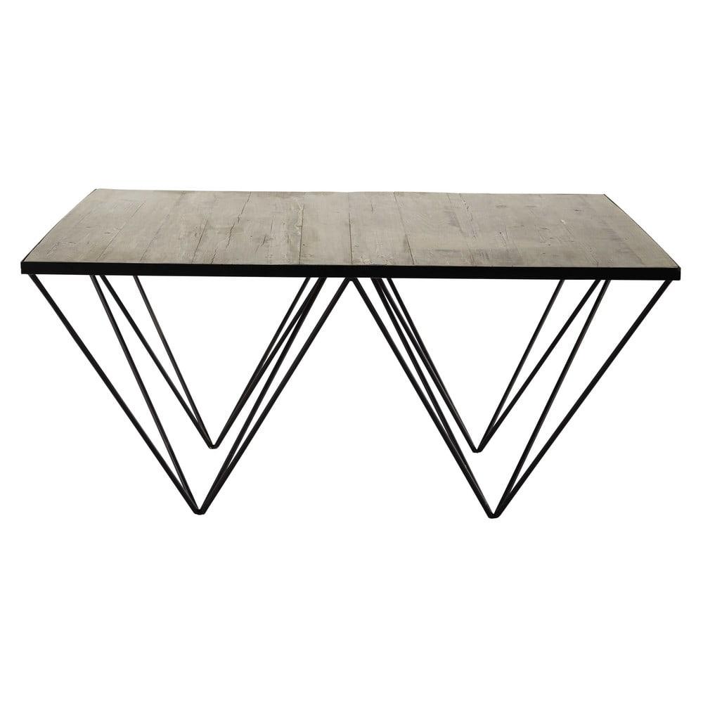 Table basse bois metal maison du monde