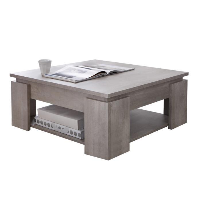Table basse relevable avec rallonge conforama
