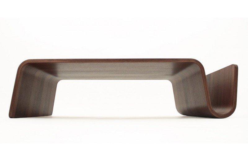 Table basse bois plié