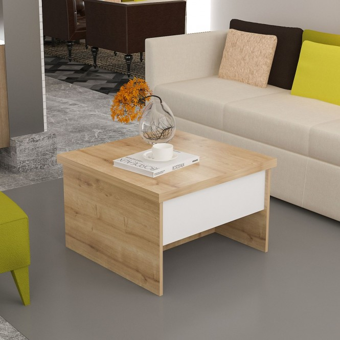 Table basse relevable form