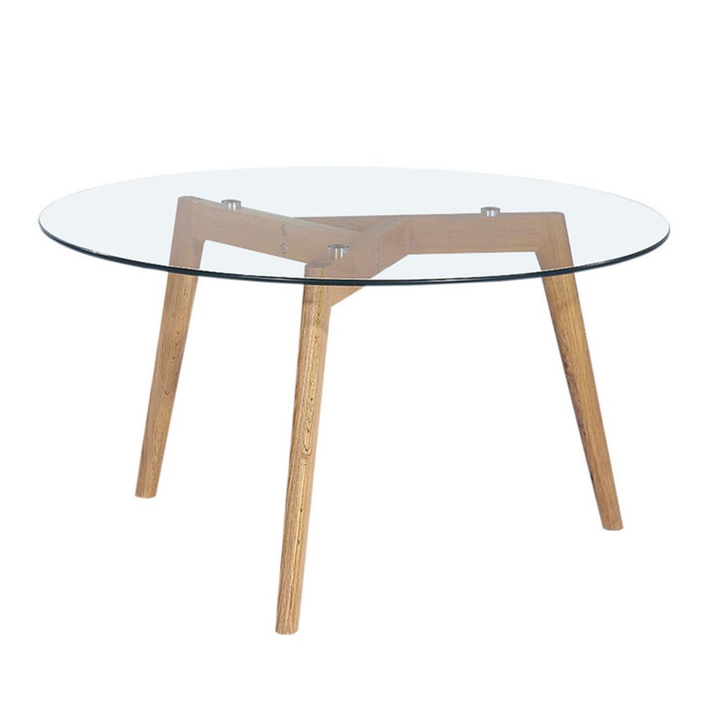 Table basse coffre bois