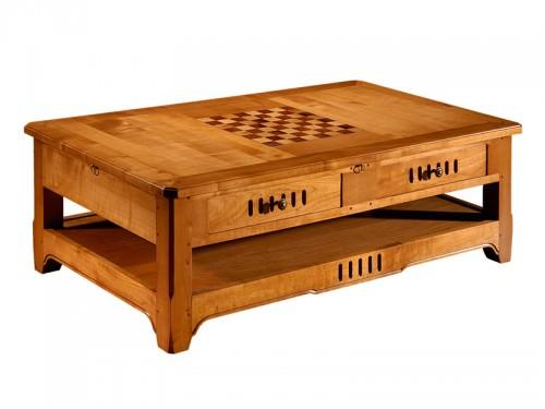 Table basse bois meurisier