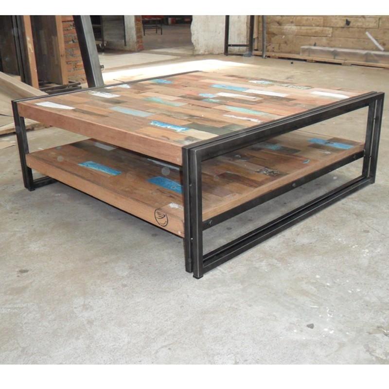 Table basse bois de recup
