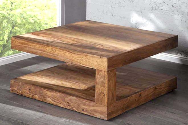 Table basse bois bon coin