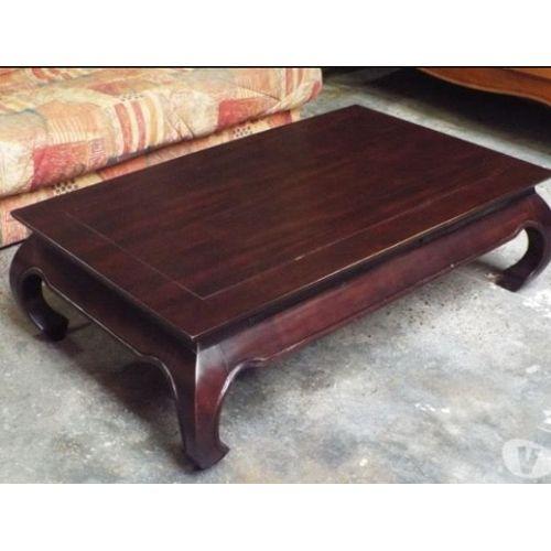 Table basse asiatique conforama