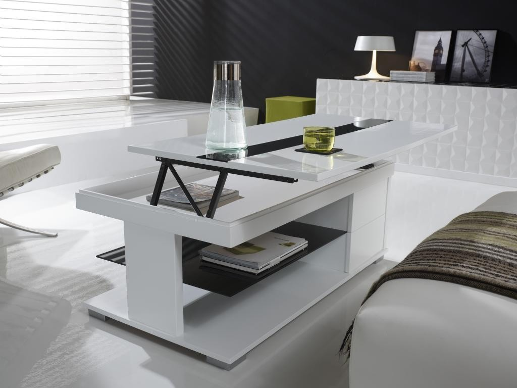 Table basse relevable de qualite