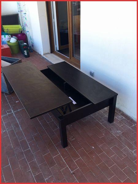 Table basse ikea plateau relevable