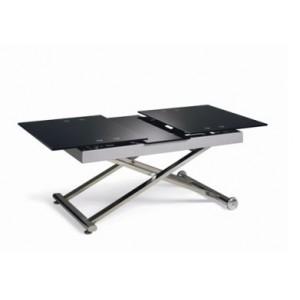 Table basse relevable petit format