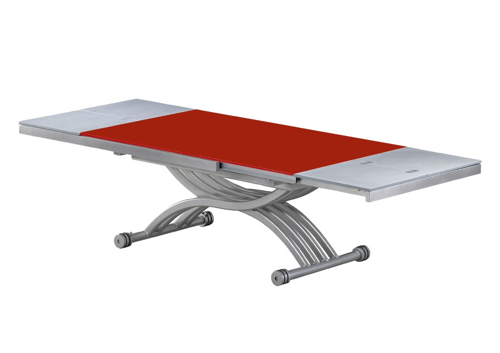 Table basse relevable ilona laquee