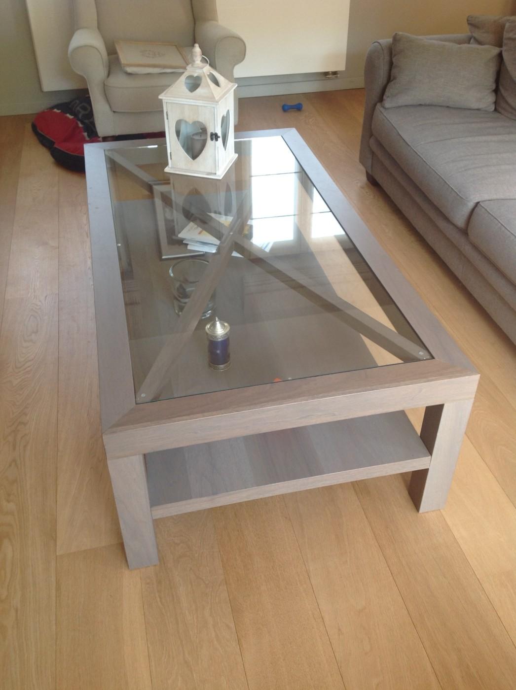 Table basse bois menuisier
